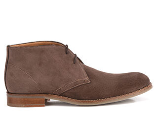 Warwick Gomme Light Taupe Suede