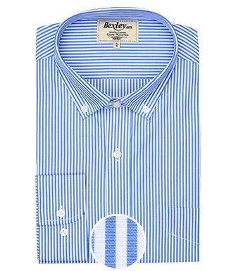Marlow Blue and White