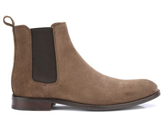 Dawson II gomme Light Taupe Suede