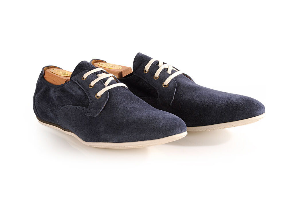 Sorgues Ocean Blue Suede