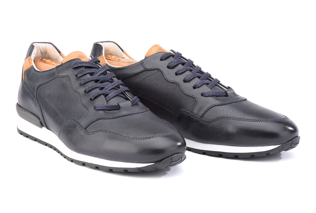 Canberra Cuir Navy
