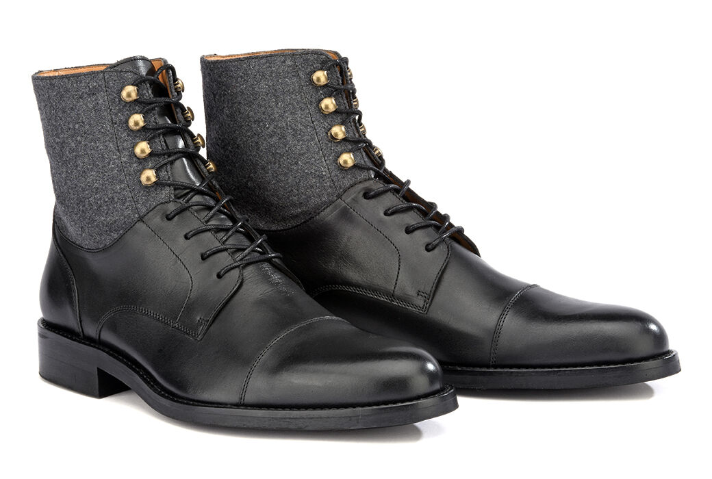 Enfield II Gomme Country Noir Patiné