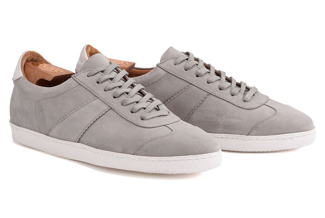 Barmera Light-Grey Suede