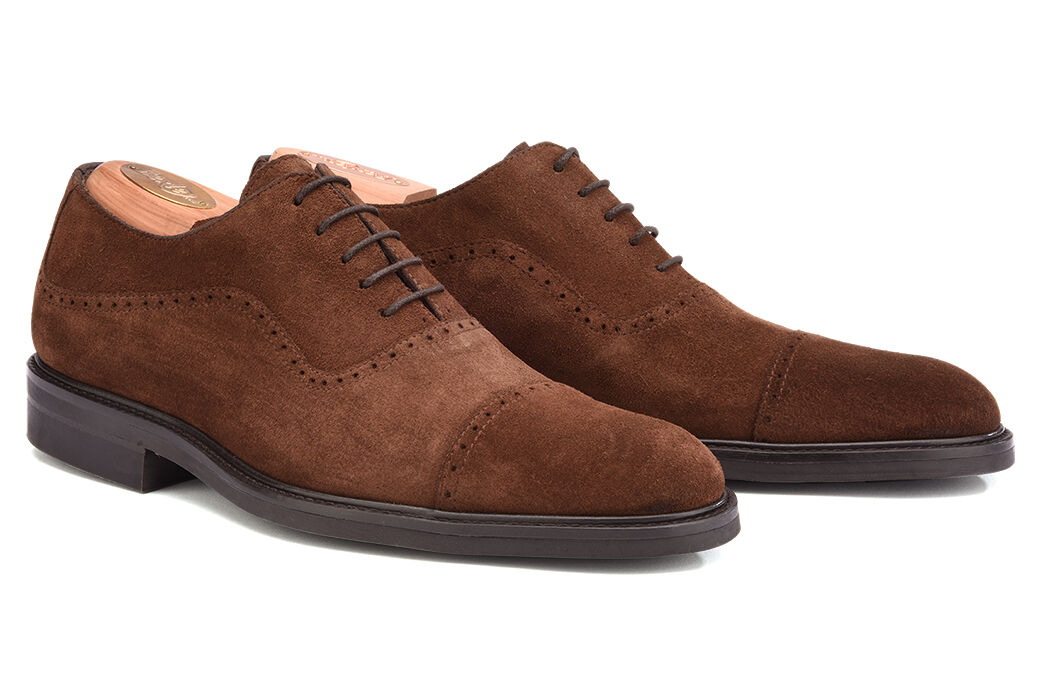 Corby Gomme City Havana Suede