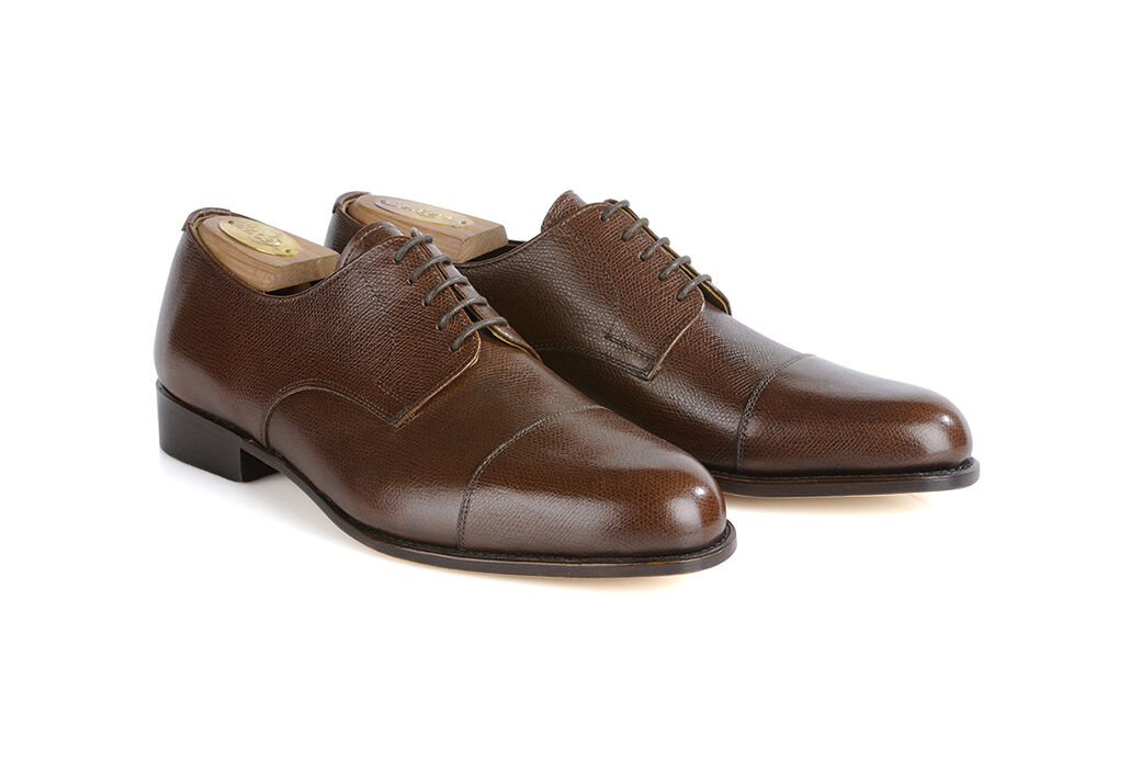Mayfair classic Sweet Chestnut grained Leather