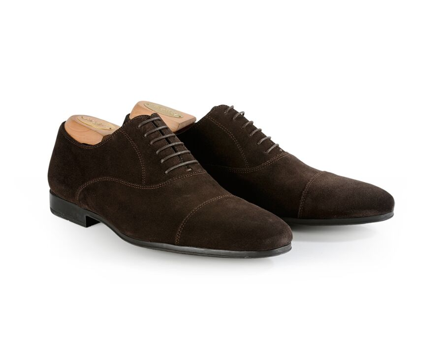 Lennox Gomme Urban Bitter Chocolate Suede