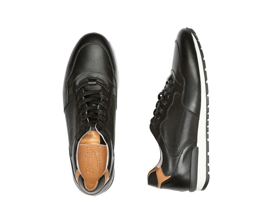 Canberra Black with patine
