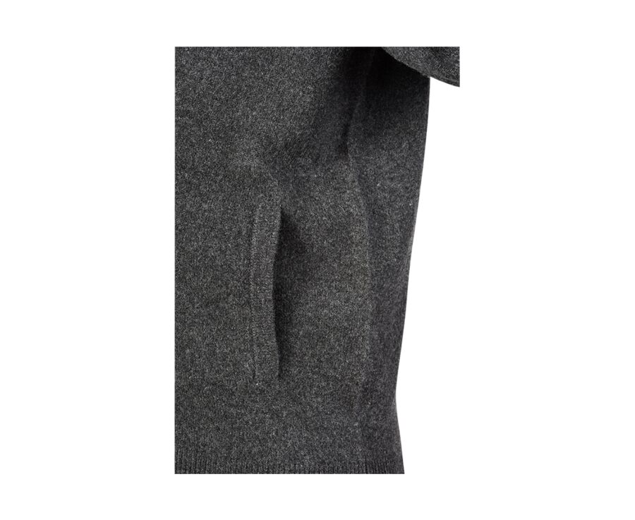 Kane gris anthracite chiné