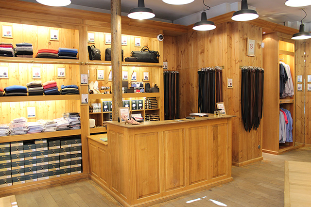 Boutique Bexley Paris Henri IV caisse